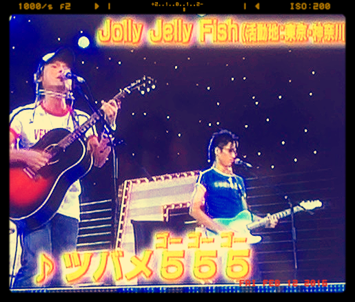 NHK-TV出演 ツバメ555
