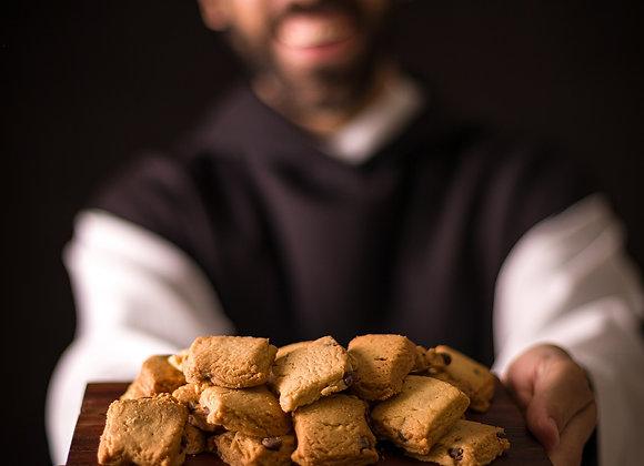 Kit São Beda: 6 biscoitos, 3 Brownies, 1 geleia e 1 chocolate