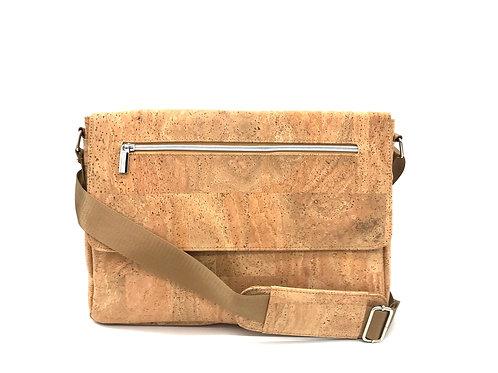 "Cork messenger bag 14"""