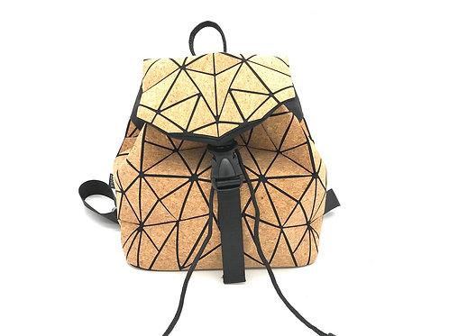 Small geometric backpack