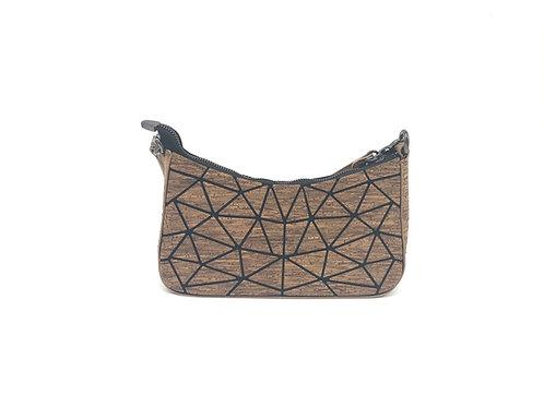 Small geometric purse