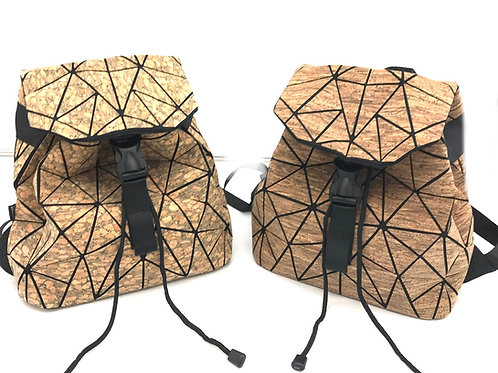 Small geometric backpack - more colors