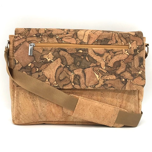 """14"""" Messenger bag with mixed colors"""