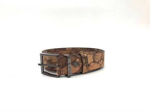 Cork belt burned