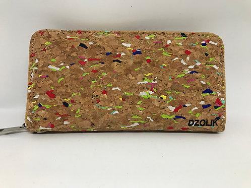 Rainbow long wallet