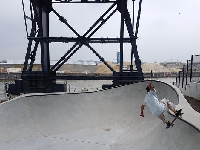 SK8 PORT : Un nouveau Skate Park le long du canal