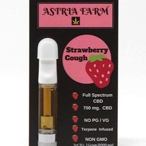 Strawberry Cough  700 mg. CBD Vape Cartage