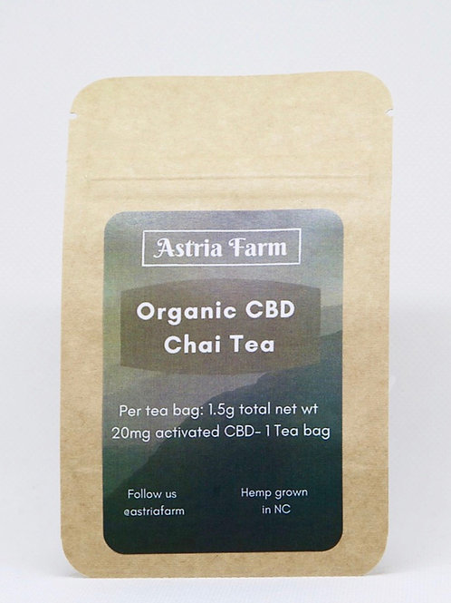 CBD Organic Chai Tea - Single Serve