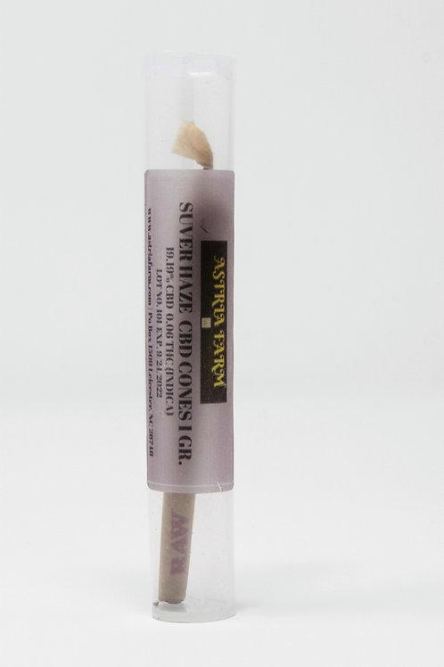 Hemp (Suver Haze - Sativa) Pre Rolled Cones - 3 Pack