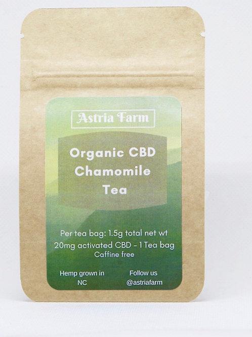 CBD Organic Chamomile Tea - Single Serve