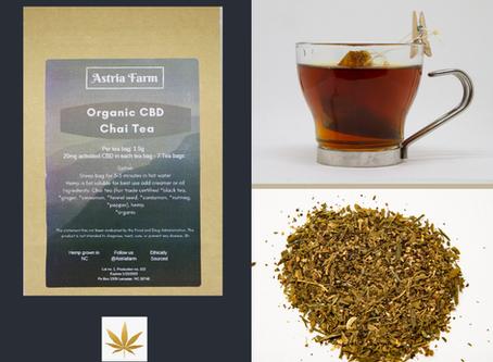 Highlight:  Astria Farm Organic CBD Chai Tea