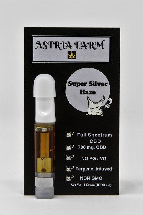 Super Silver Haze 700 mg. CBD Vape Cartridge