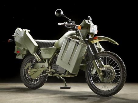 Harley-Davidson MT 500. El combustible diésel acabó con ella antes de brillar.