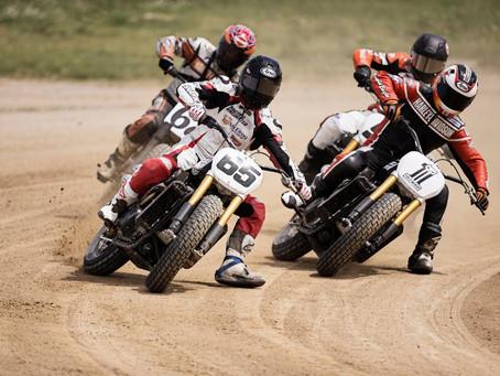 Carreras de flat track con Harley en la European Bike Week 2017