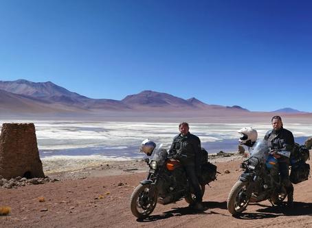 El mundo en moto: rumbo norte.
