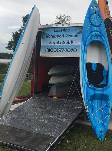 2 hour single Kayak rental