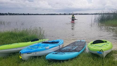1 hour Single Kayak Rental