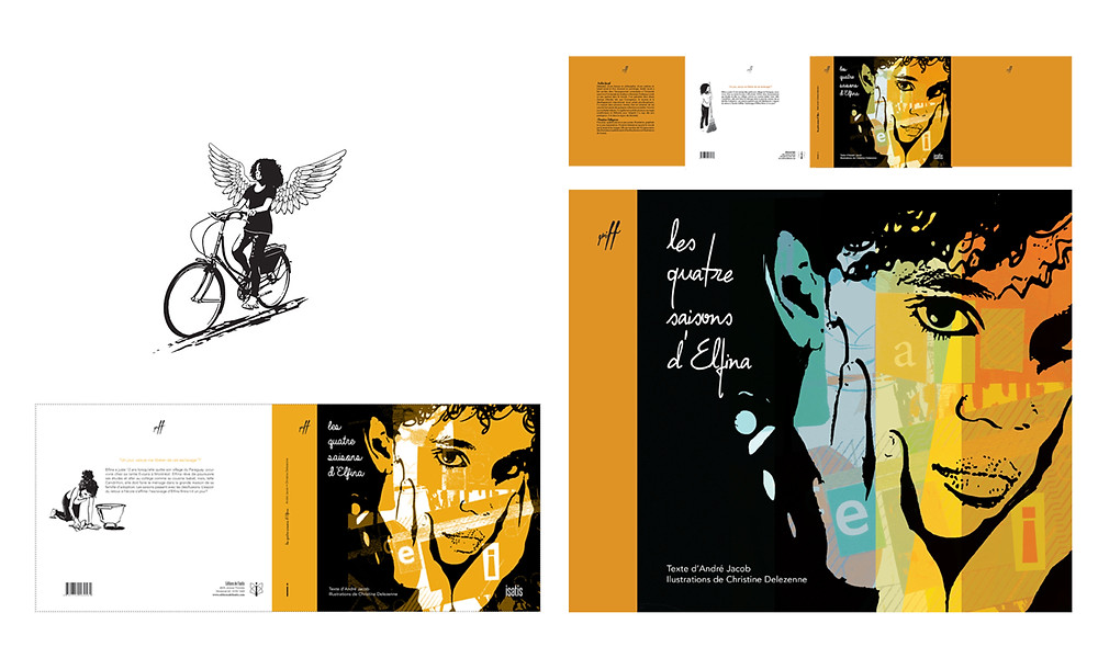 Recherches couverture pour un livre jeunesse à paraître aux éditions de l'Isatis - automne 17
