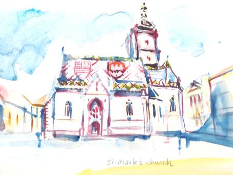 St-Mark Zagreb - variations