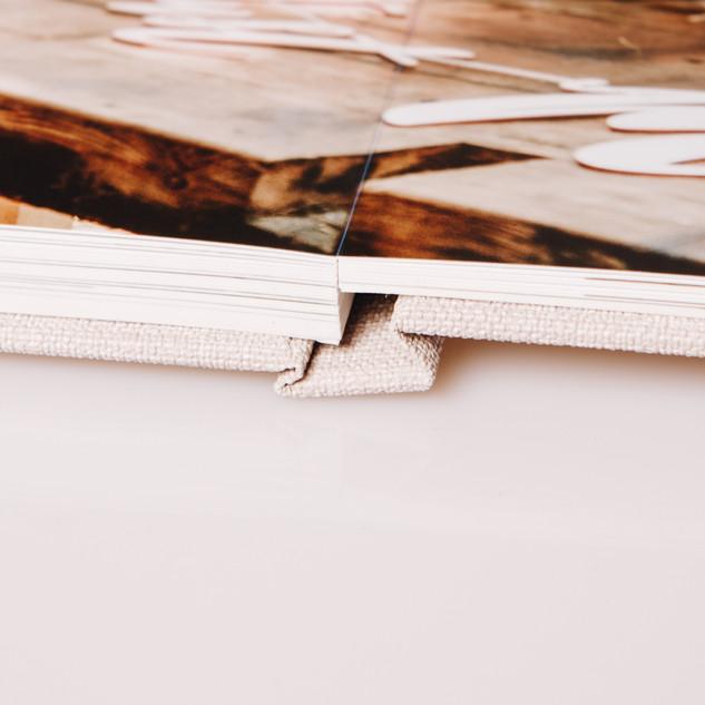 Lay-flat binding