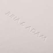 Luxe - Embossing Blanco