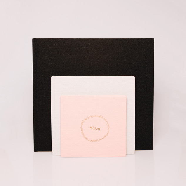 Linnen albums 15x15, 20x20, 30x30