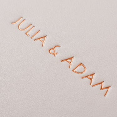 Luxe - Embossing Rose Gold