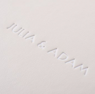 Luxe - Embossing Matte White