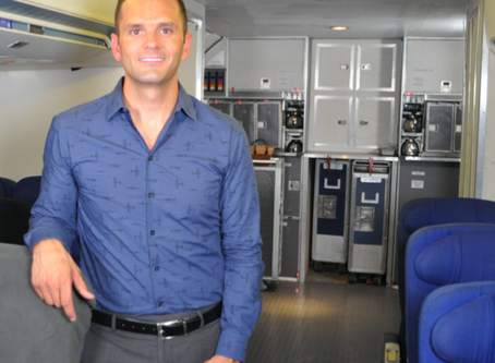 Q&A: An Exclusive interview with Yale Scott - Founder of Airplane Seet Cuvers