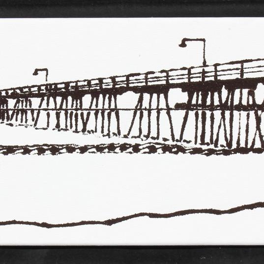 Avila Pier from south 1  8x24