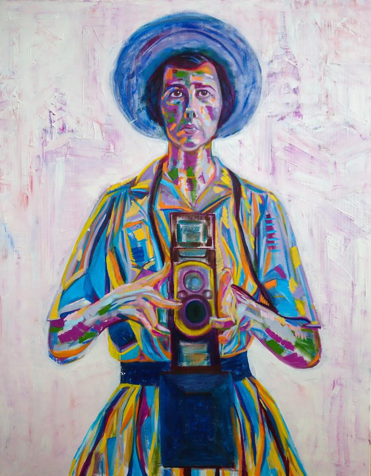 The portrait of the Self-portrait genius Vivian Maier