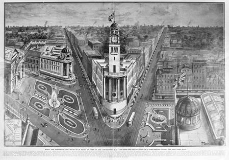The Cobbler 4: With it's close proximity to the Auckland Town Hall, many plans were envisaged for a grand civic centre that would include where the cobbler's building stood, though none came to pass until the Aotea Square was developed in the 1980's.