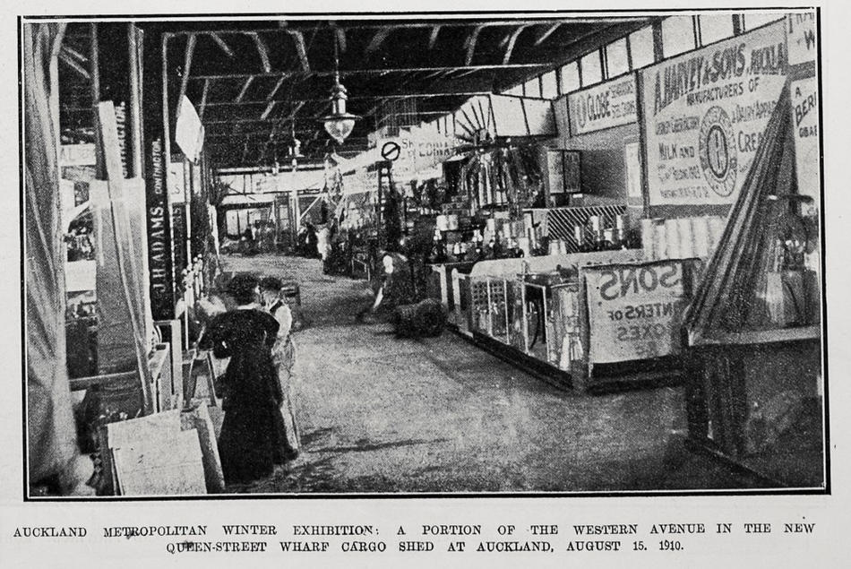 The Auckland Market Hall 1: Places like the Auckland City Market allowed local growers to bring together and sell their produce in a similar manner perhaps to the modern-day farmers markets.