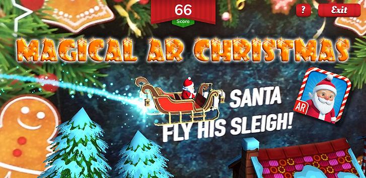 Magical AR Christmas PLaystore graphic v