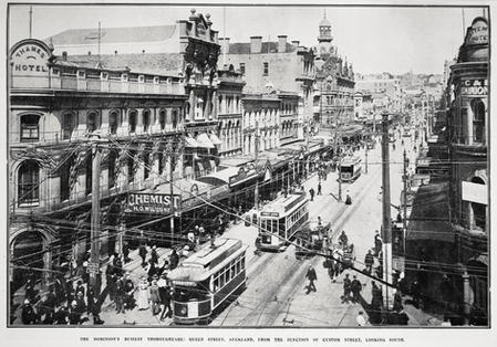 The Cobbler 1:  Street in the early 20th century was a bustling place filled with trams, carts, horses, and plenty of pedestrians with a need for good shoes.