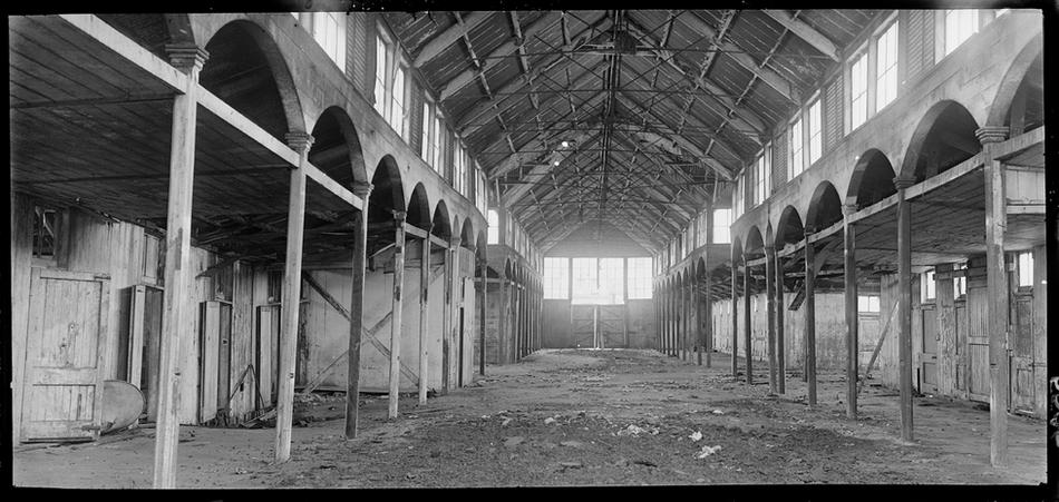 The Auckland Market Hall 3: A shift in focus to the waterfront and an apparent lack of maintenance led to the market building becoming very run-down by the 1910's, and it was completely abandoned by 1920.