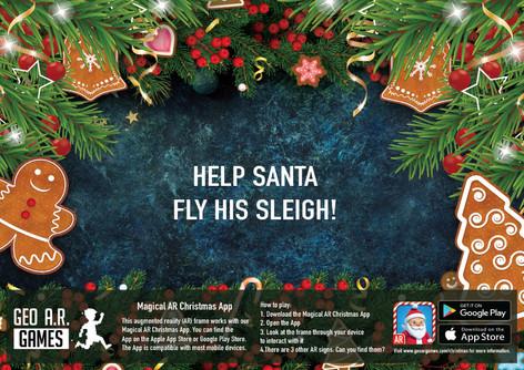 Help Santa fly his sleigh