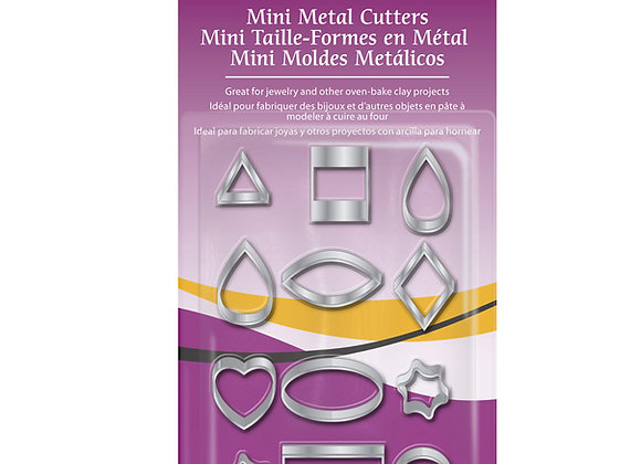 Cortantes Mini Metal, 12 pc.