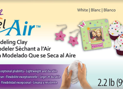 Model Air Dry Clay - White