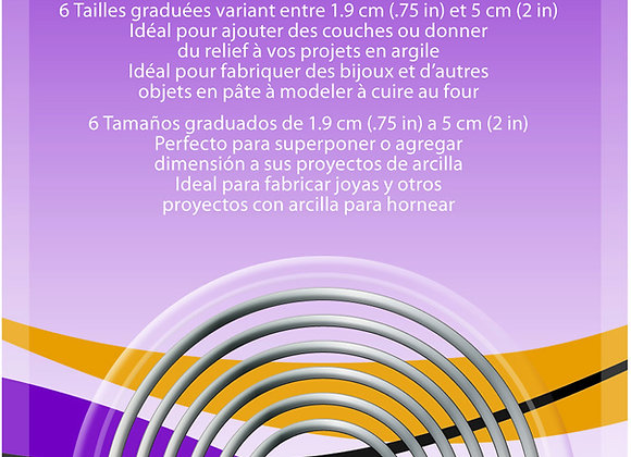 Set de Cortantes: Circle, 6 pc