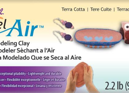 Model Air Dry Clay - Terra
