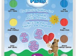 Pluffy Primary Multi Pack, 8 Colors