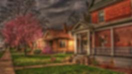 House with Purple Tree- fattal.jpg