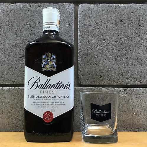 Ballantine's Finest - Uísque + copo