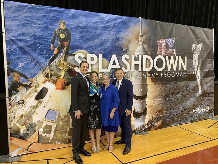John Wolfram with Apollo 11 banner.jpeg