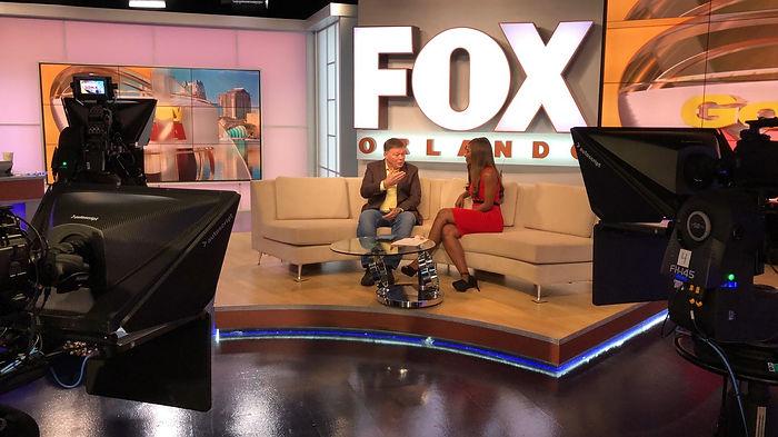 John Wolfram interview photo at Fox News