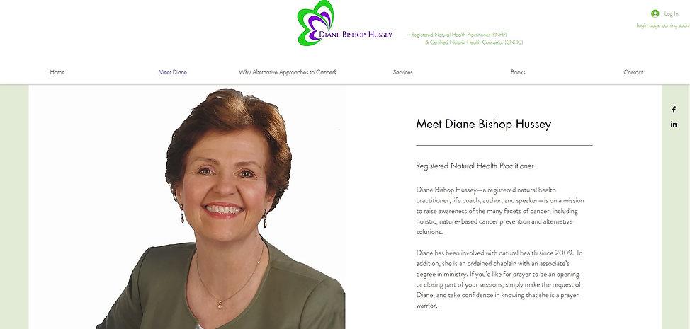 Diane Bishop Hussey Coaching  home page