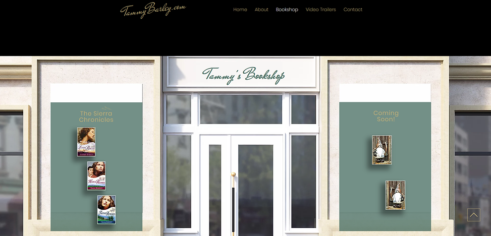 TammyBarley.com bookshop page - PogoFish