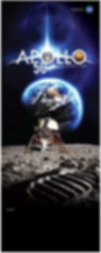 Apollo 11  lunar lander and footprint on