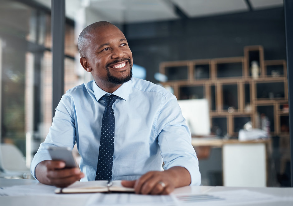 Inspired Businessman  iStock-1183952185  Credit iStock - shape